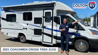 2021 Coachmen Cross Trek 21XG Class B+ Motorhome Walkthrough and Test Drive