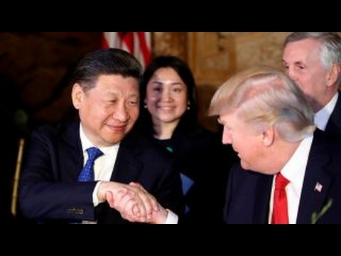 China's President Xi feeling upstaged by Trump?