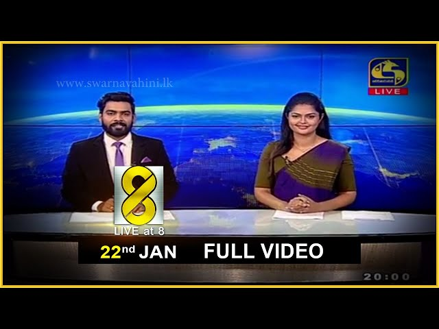 Live at 8 News – 2021.01.22