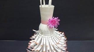 Recycled Crafts Ideas: Wedding Dress Out Of Plastic Bottles
