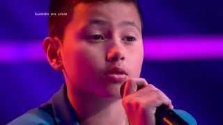 Santi cantó Hoy tengo ganas de ti de M. Gallardo – LVK Colombia – Audiciones a ciegas – Cap1 - T2