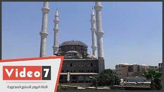 مسجد الرحمن بدء إنشاءه حافظ سلامة قبل 36 عاما ويحتاج 15 مليون لإتمامه