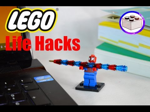 3 LEGO Life Hacks   Office Supplies