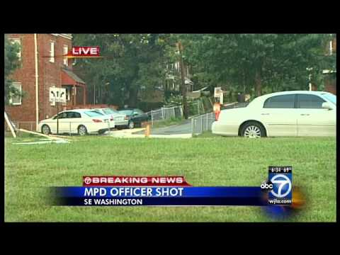 Metropolitan police detective shot, wounded in D.C.; 1 arrested, police searching for two others