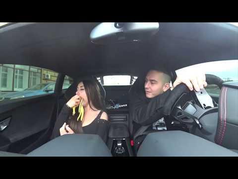 Кира Майер разделась в Lamborghini