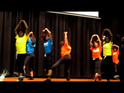 MCT2 Dance Team at Chastain Middle School