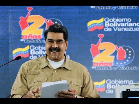 Maduro en la Jornada Internacional Somos Venezuela, 4 febrero 2019, Casa Amarilla