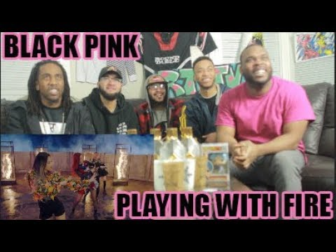 BLACKPINK - '불장난 (PLAYING WITH FIRE)' M/V REACTION/REVIEW