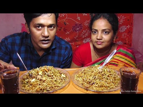egg-chicken-chowmein-eating-challenge---best-indian-eating-show