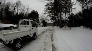 1997 Subaru Sambar - Cold Start After 3 Months