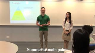 Problem-solution Presentation: Conclusion with annotations