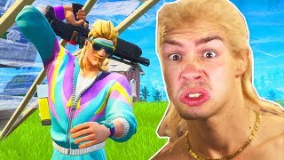NOOB macht FEUERBALL in Fortnite ..