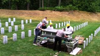 Dad's Burial - Tahoma National Cemetery July 17, 2014