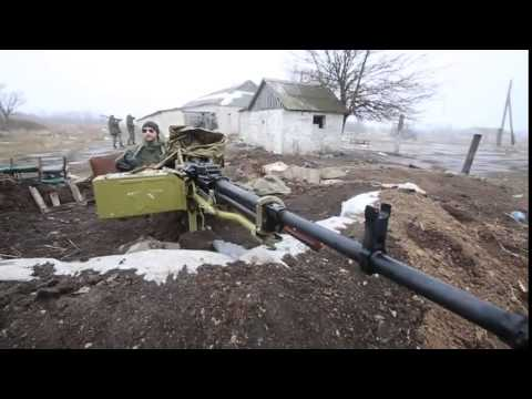 NSV 12.7mm caliber heavy machine gun. Donetsk today thumbnail