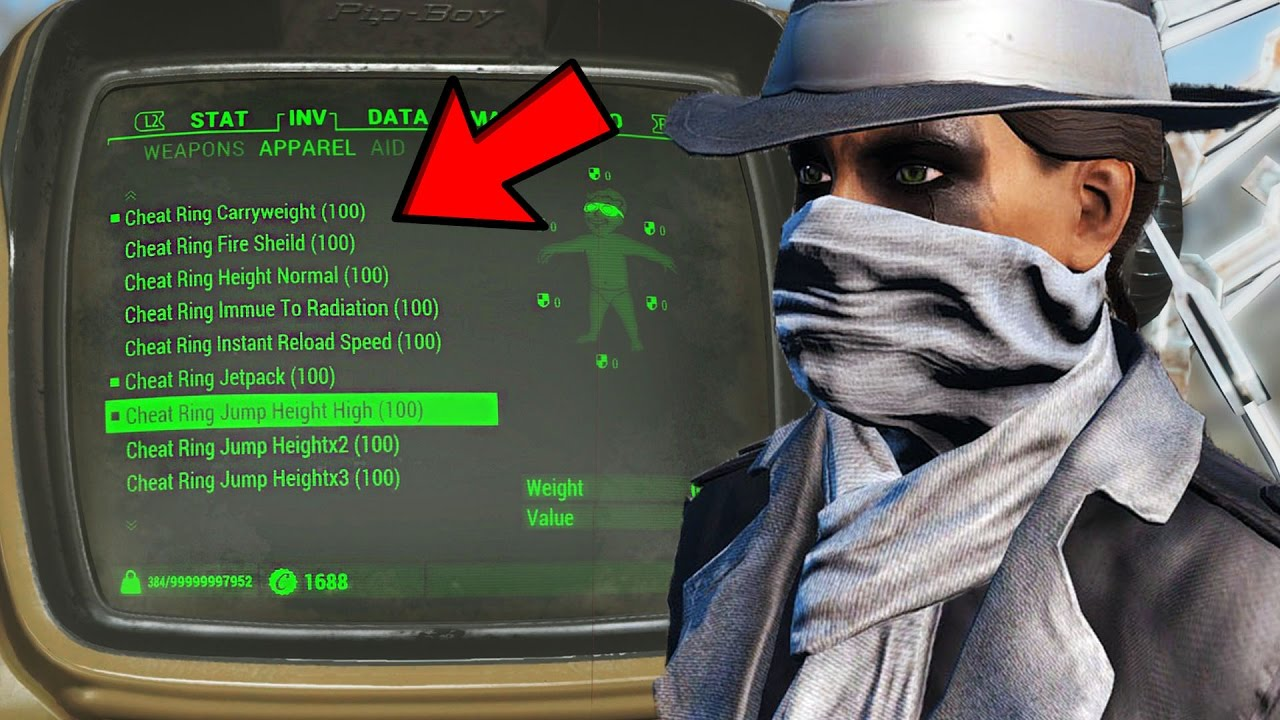 Fallout 4 ps4 mods best new cheat room mod showcase console mods 123vid - What consoles will fallout 4 be on ...