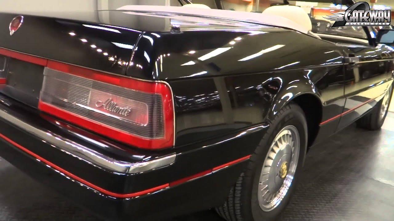 1991 cadillac allante stock 5889 gateway classic cars st louis youtube