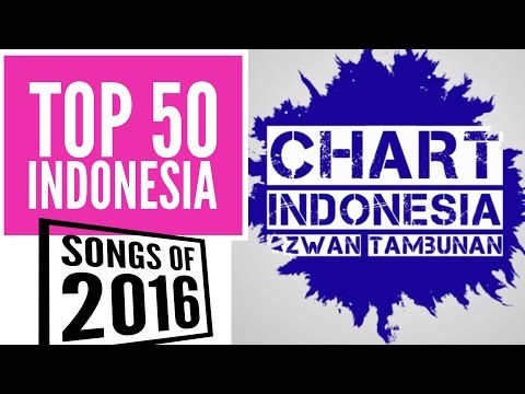 TOP 50 INDONESIA SONGS OF 2016