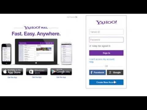 Cara Membuat Email di Yahoo | Video Tutorial