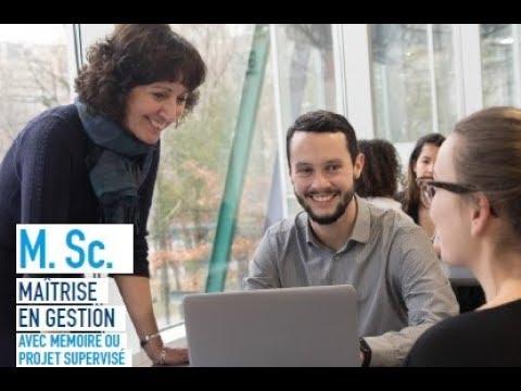 HEC Montréal / Futurs étudiants Maîtrise En Gestion
