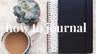 How to Journal | Benefits of Journaling + The Miracle Morning
