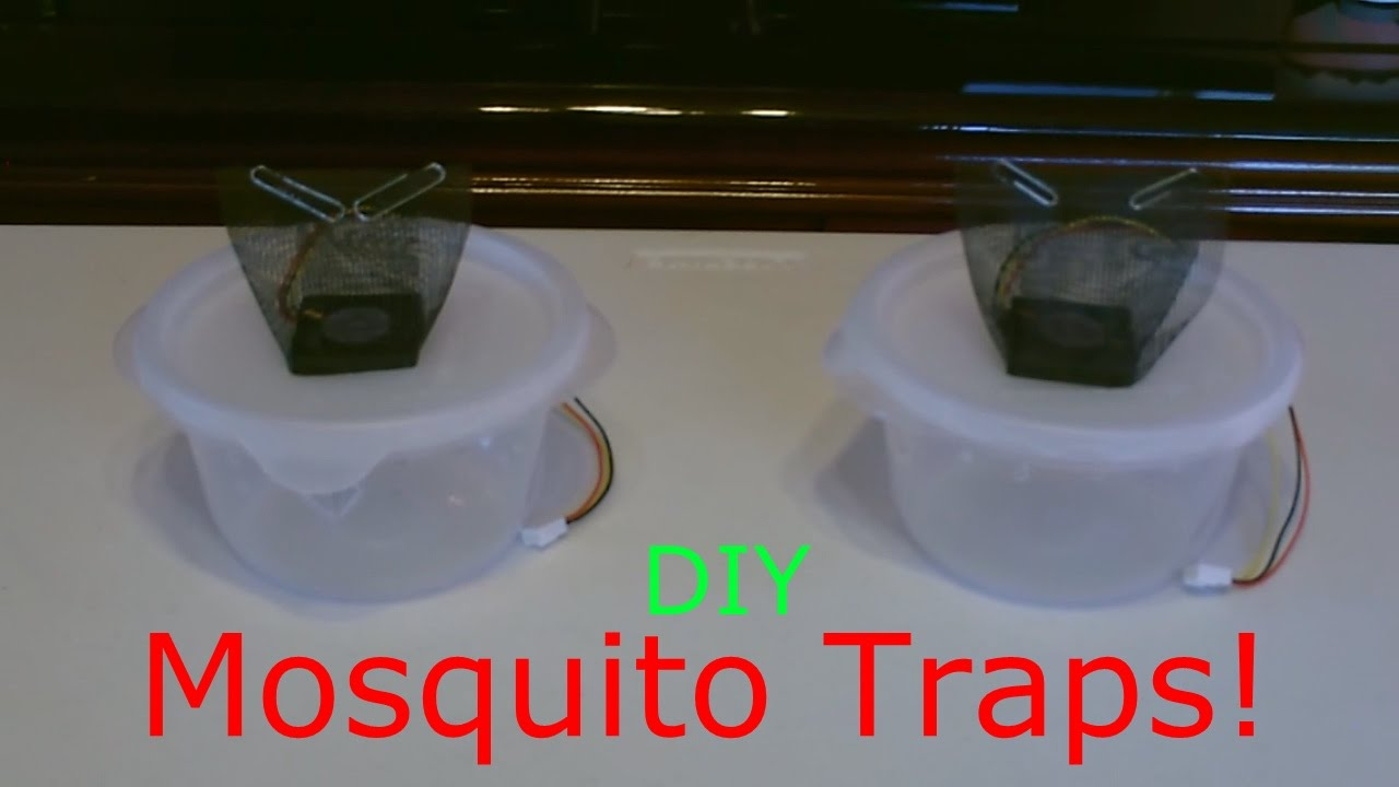 Homemade Mosquito Trap The Diy Mosquito Trap Improved Easy