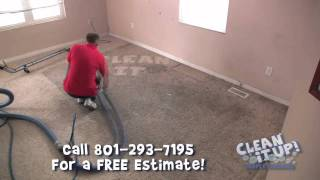 Carpet Cleaners Utah - Cleaning a dirty rug in 30 seconds - (801) 293-7195