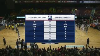 The Terrific 12 Day 4 Game 2 Guangzhou Long Lions vs Seoul Samsung Thunders