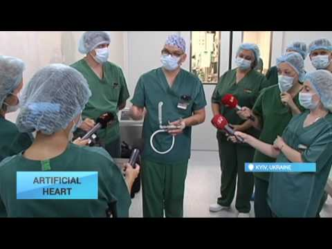 Ukrainian Patient Gets Artificial Heart: The very first time operation is conducted in the country