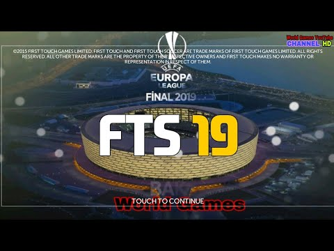 FTS 19 UEFA EDITION NEW UPDATE BEST HD GRAPHICS