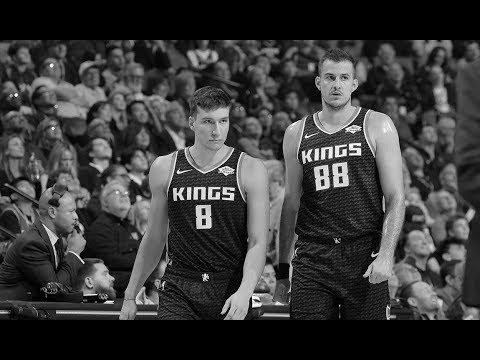 Bogdan Bogdanovic & Nemanja Bjelica, Sacramento Kings @ Los Angeles Lakers,  16.nov.2019
