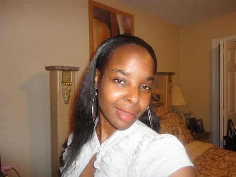 Janet Collection Easy Wear Half Wig ~Riya*A Natural Girl's must have!!
