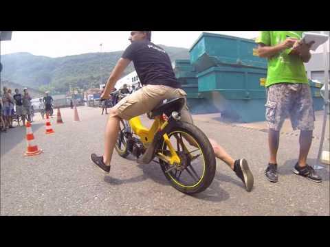 Puch Maxi Athena 70cc test run