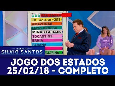 Jogo dos Estados - Completo | Programa Silvio Santos (25/02/18)