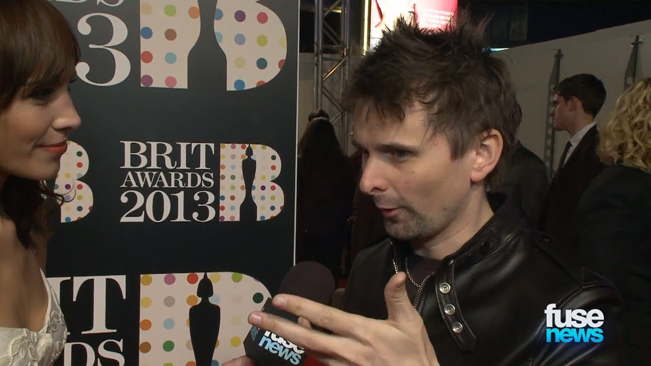 Muses matt bellamy on grammys vs brits brit awards 2013 youtube voltagebd Image collections