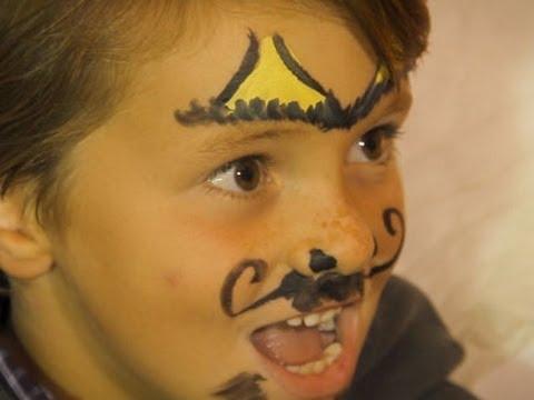 Maquillaje de Halloween para niños diablo