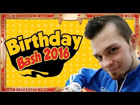Abdallah Smash #BirthdayBash2016!  Party With Subscribers!