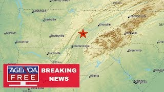 4.4 Earthquake in Tennessee  - LIVE BREAKING NEWS COVERAGE