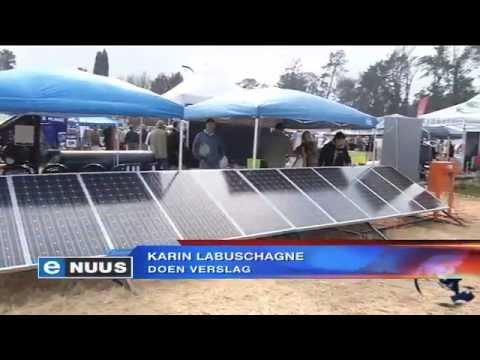 Kragdag bied volhoubare oplossings / Expo offers sustainable solutions