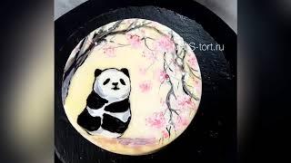 Уроки росписи на торте онлайн