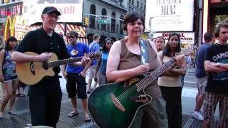 Meetles - Ballad of John & Yoko - Times Square - 7-3-10.MP4