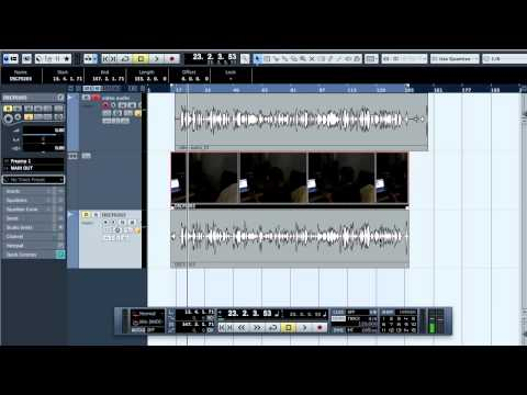 Mixing 201 - Synching Audio To Video In Cubase And MTV Style Editing