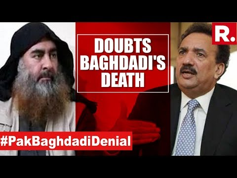 Baghdadi Killed. Pakistan