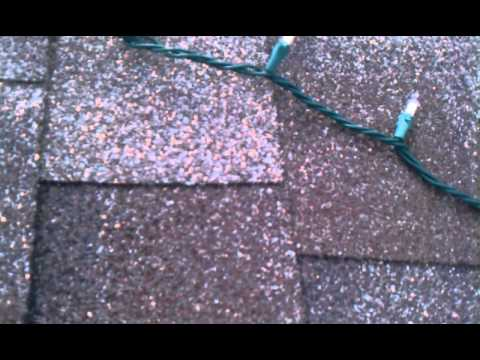 How I secure xmas lights to the roof - YouTube
