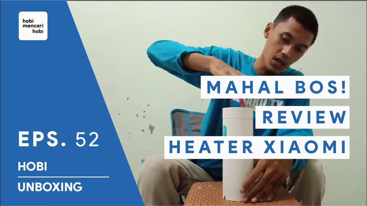 REVIEW HEATER MAHAL - Xiaomi Viomi Electric Heating Water - 400ml - Portable Travel Thermos