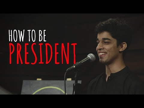 """""""How To Be President"""" (US Edition) - Rutwik Deshpande 