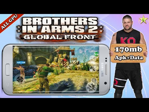 Brothers In Arms 2 Global Front HD Compressed Game Download On Android  Apk+Data  Offline  All Gpu