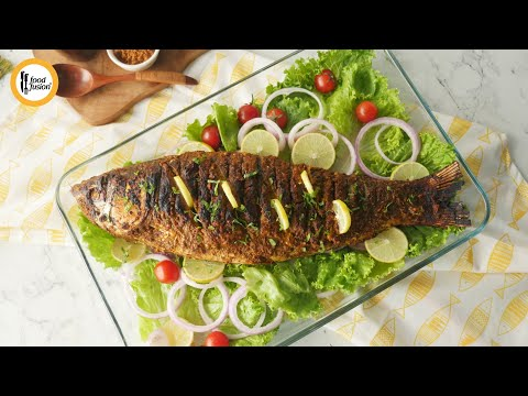barbecued spiced fish