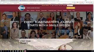 Intro to Using Pathways Base Camp -- Toastmasters