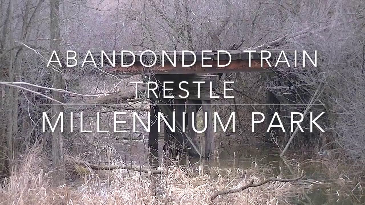 Abandoned Train Trestle Millennium Park Grand Rapids Mi