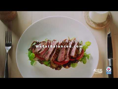 Eat Balanced TV advert – Open Beef Steak Sandwich
